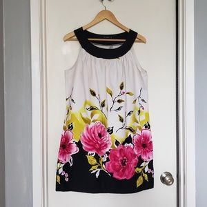 Blu Sage Women's Size 14 Sleeveless Floral Dress
